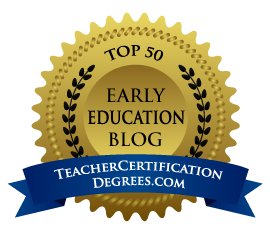 http://www.teachercertificationdegrees.com/top-blogs/early-childhood-education/