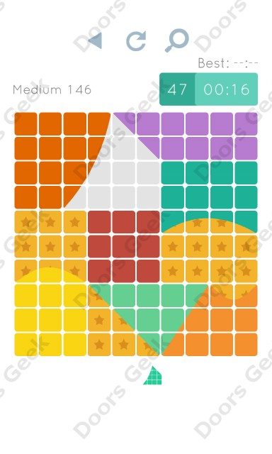Cheats, Walkthrough for Blocks and Shapes Medium Level 146