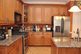 Gabinetes de cocina de madera