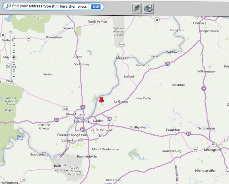 Kentucky USDA Rural Housing Eligibility Map
