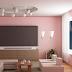 Kombinasi Warna Cat Ruang Tamu Dengan Plafon Yang Elegan