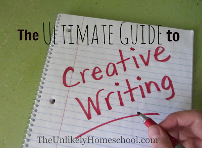 The Ultimate Guide to Creative Writing for Elementary Kids {The Unlikely Homeschool}