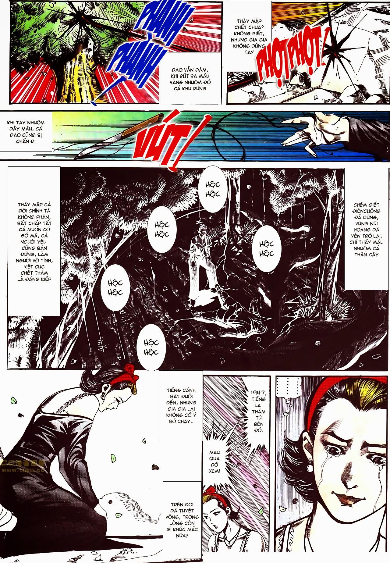 Người Trong Giang Hồ chapter 116: bình minh ló dạng ái tình tan vỡ trang 20