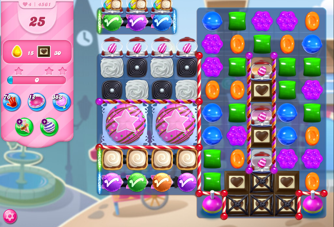 Candy Crush Saga level 4561