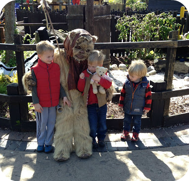 ewok at legoland