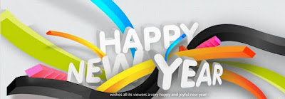 Happy New Year Facebook timeline cover Photo