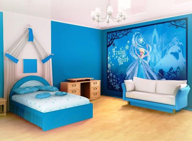 elsa frozen bedroom ideas