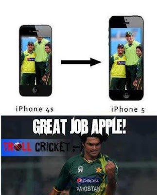 funny difference between iphone4 and 5
