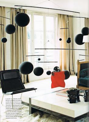 herve van der straeten's home living room