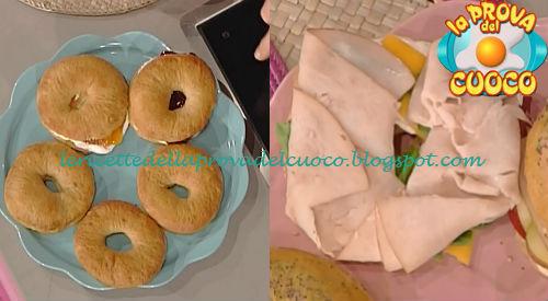 Bagels dolci e salati ricetta Messeri da Prova del Cuoco