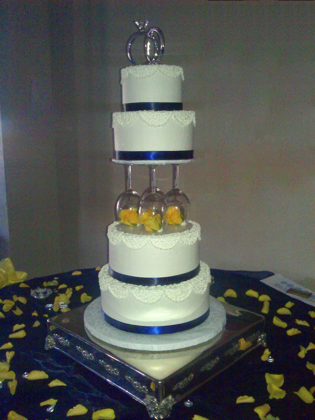 CCs Sweet Sensations Wedding and Party cakes and Chocolate Fountains Whip Cream and Wine Glass