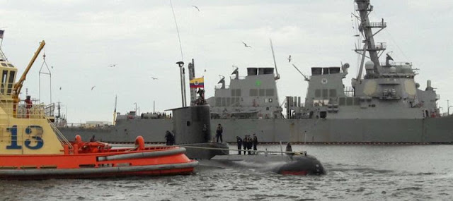 """El submarino ARC """"Tayrona"""" de la Armada de Colombia"""