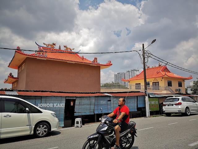 Kampung Baru Pandan @ Sam Shing Miao Temple in Johor Bahru