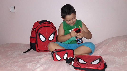 spiderman çanta