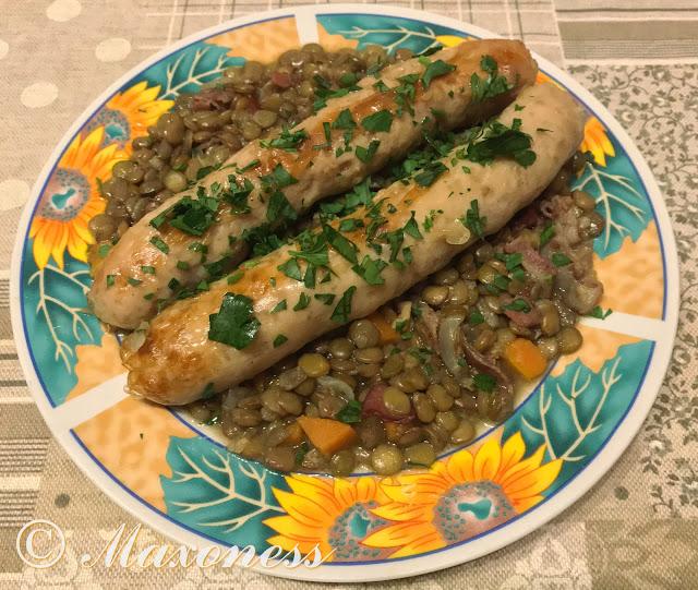 Итальянские колбаски с чечевицей от Гордона Рамзи. Итальянская кухня
