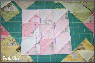 Patchwork Couture des pièces de tissu