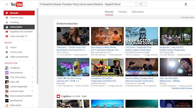 3 Keyword rahasia Youtube Yang Harus kamu Ketahui