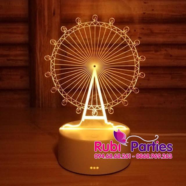 DEN LED 3D HINH DU QUAY (719)