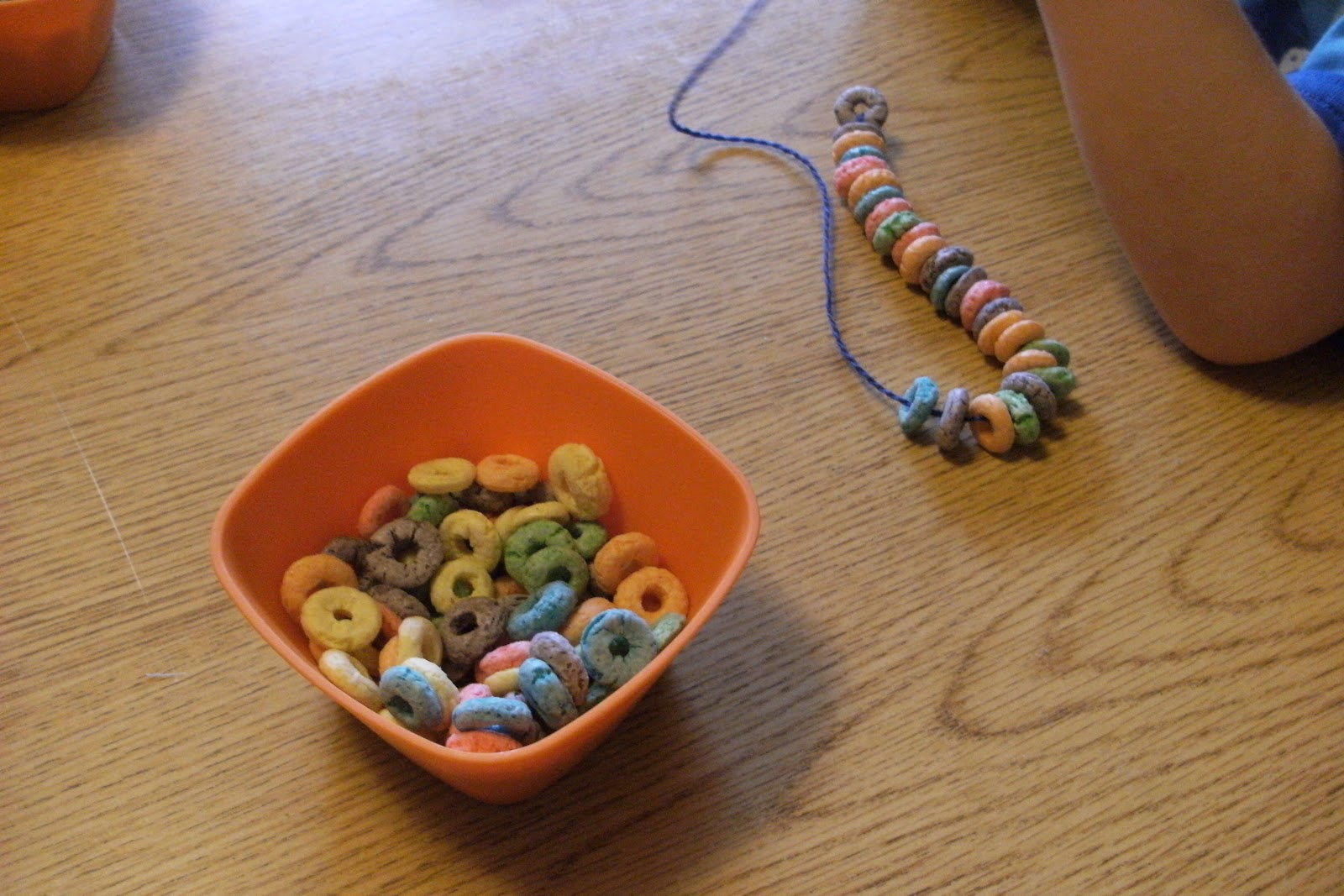 Ms Sara S Preschool Blog Fruit Loop Lacing
