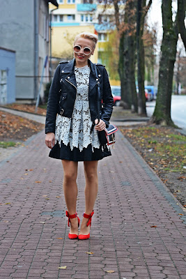 shein_lace_dress_red_heels_karyn_koronkowa_sukienka_
