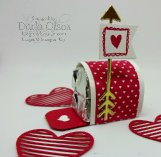 Video Tutorial for The Sending Love Suite Mailbox and More with Darla Olson, Stampin' Up! Demonstrator at Inkheaven