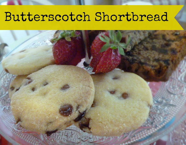 Recipe Butterscotch Shortbread