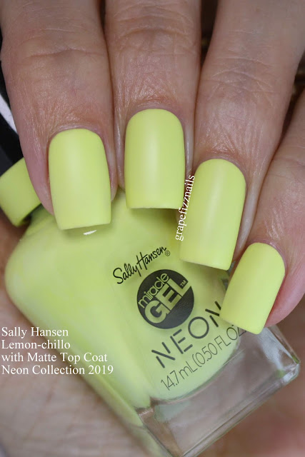 Sally Hansen Lemon-chillo Neon Collection