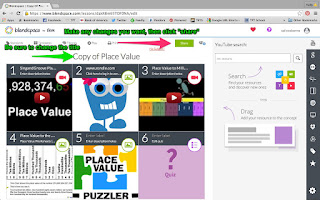 Using blendspace in your digital classroom