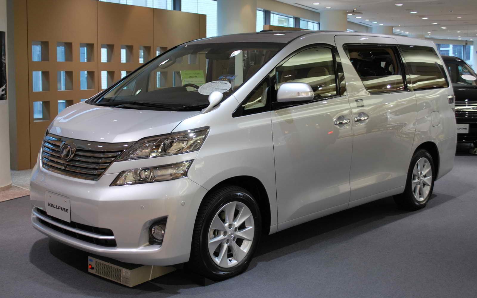 2012 Toyota Vellfire Picture Gallery : Automobile