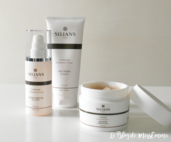 Les Rituels Spa Silians • Gamme Cardamone et Cacao