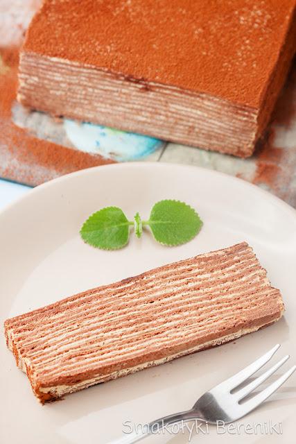 Ciasto jak Marcinek o smaku cappuccino