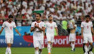 عواقب القضاء على اسبانيا والبرتغال لفريق منتخب إيران
