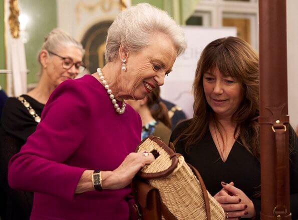 Princess Benedikte attended the Laugenes Show 2019 (Laugenes Opvisning 2019) at Moltke's Mansion in Copenhagen
