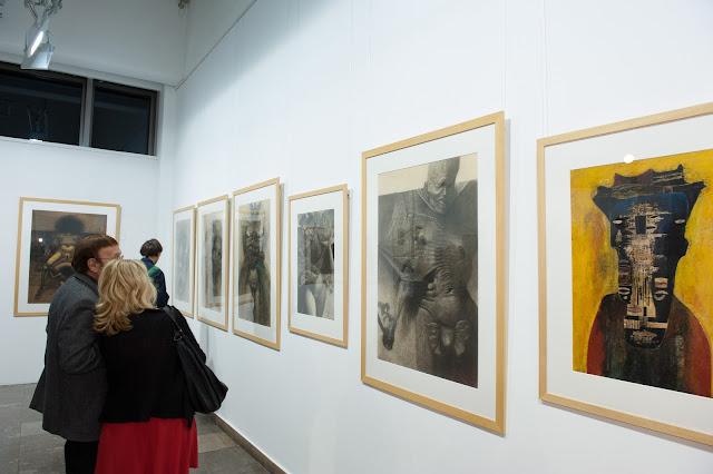 Kraków, nck, galeria, Beksiński