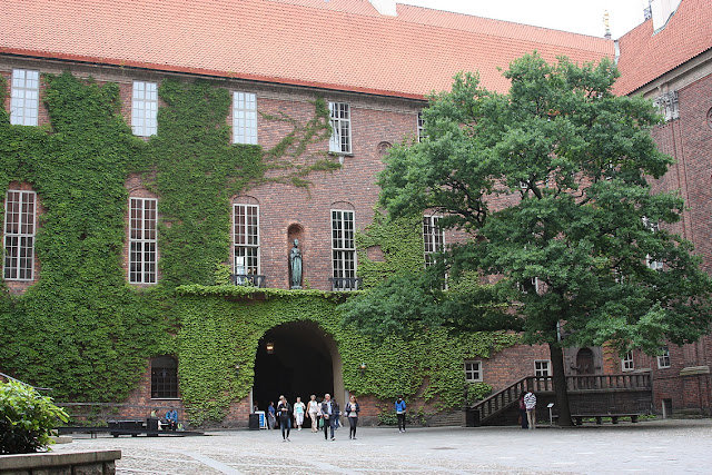 Стокгольм, стокгольмская ратуша
