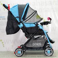 Kereta Bayi Does DS-236H Loco Tongkat Hadap Depan Belakang
