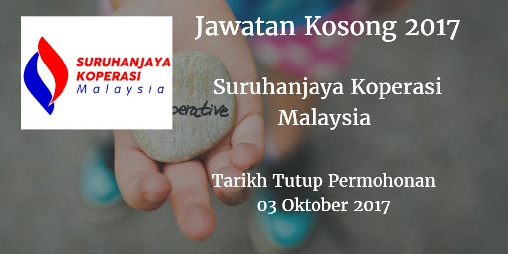 Jawatan Kosong SKM 03 Oktober 2017