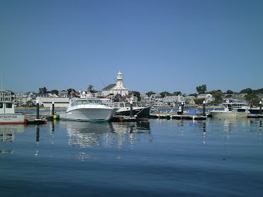 MacMillan Wharf & Provincetown Library, Sept 2012