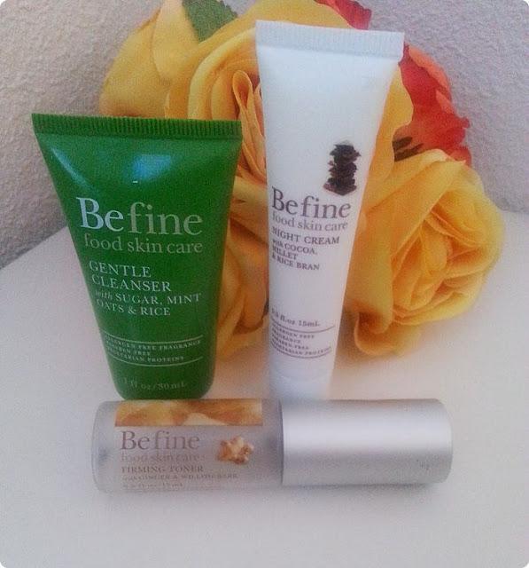 befine-crema-limpieza-suave-tonico-reafirmante-crema-noche