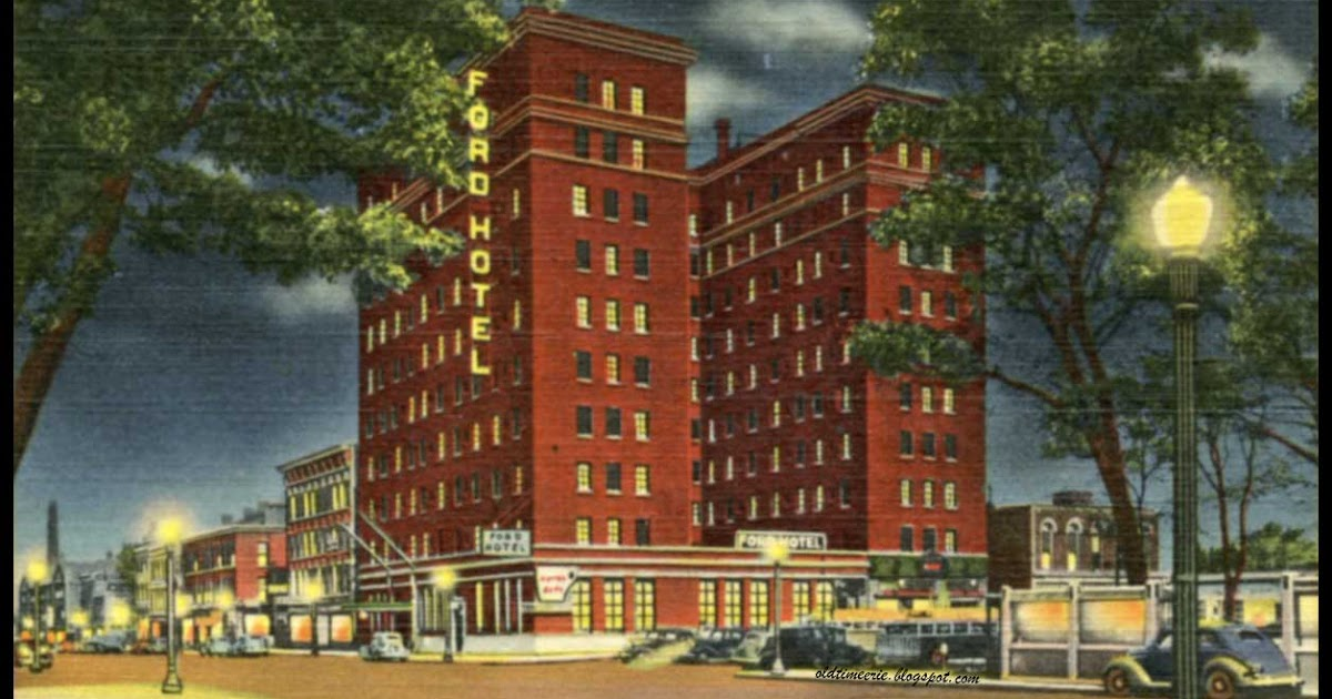 Old Time Erie Ford Hotel Now Richford Arms On State