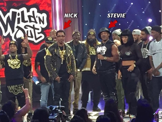 Nick Cannon and Stevie J. feud