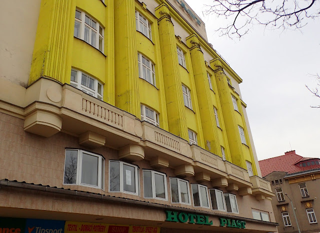 Hotel Piast po czeskiej stronie