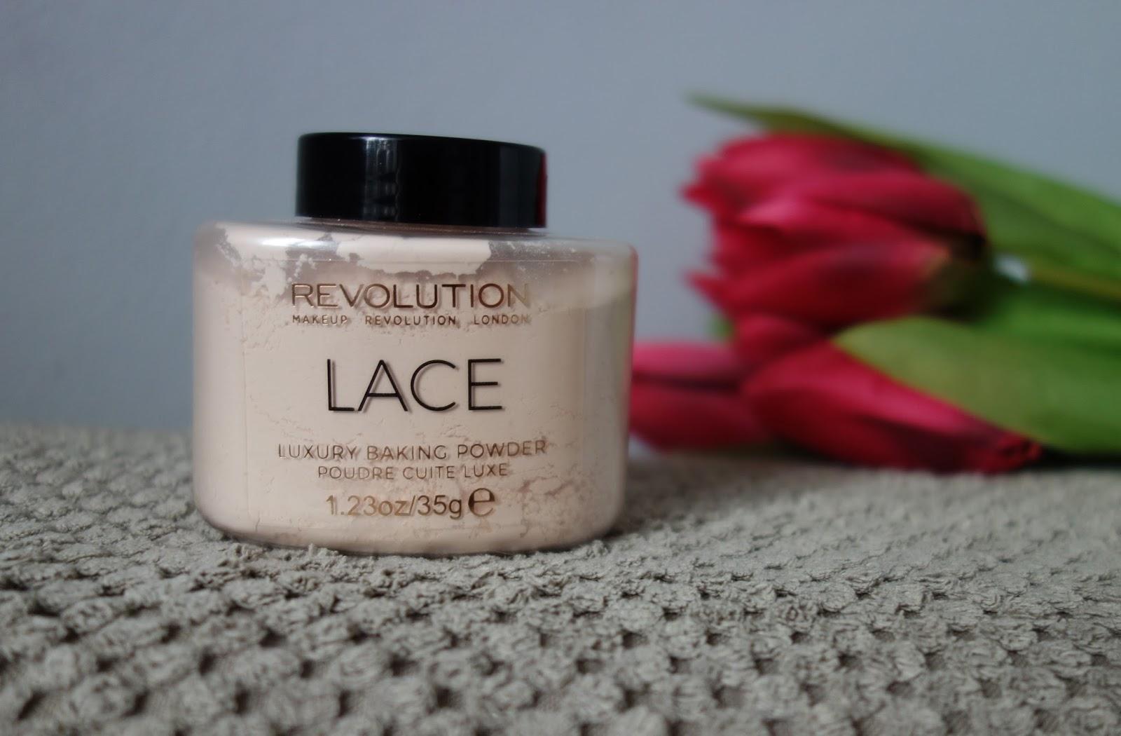 Makeup Revolution Baking Powder LACE - warto czy nie warto?