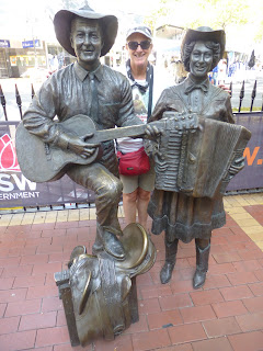 Jane Laws at Tamworth Country Music Festival