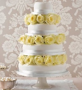 You Can Get A Three Tier Wedding Cake For Between 8 56 With Choice Of Either Fruit Or Sponge From Marks And Spencers