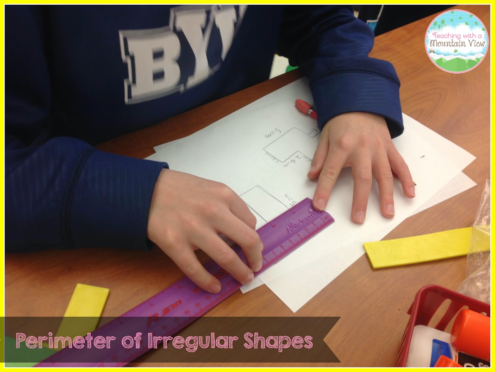 Teaching With A Mountain View Perimeter Amp Area Of