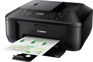 In amongst no reservations One dwelling utilisation printer amongst completely intregrated ADF for fasy  Canon Pixma MX396 Driver Download