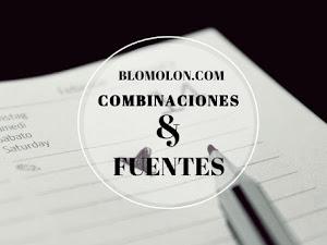 Combinaciones & Fuentes