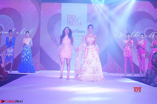 Kiara Advani walks the ramp showcasing the collection of label Papa Dont Preach by designer Shubhika during the Bombay Times Fashion Week 2018 ~ Exclusive 004