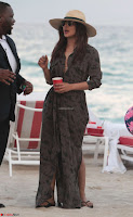 Priyanka Chopra on the beach Day 3 with friends in Miami Exclusive Pics  030.jpg